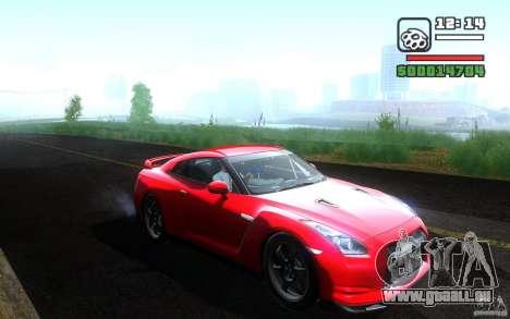 Nissan GTR R35 Spec-V 2010 für GTA San Andreas