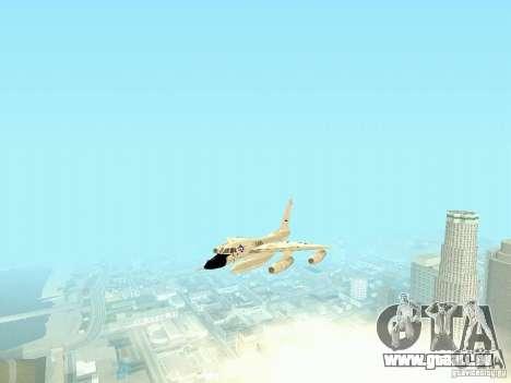 B-58 Hustler für GTA San Andreas Rückansicht