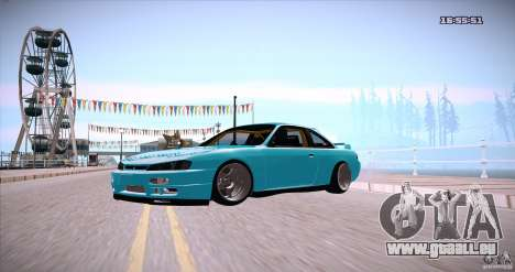 Nissan Silvia S14 JDM WAY für GTA San Andreas rechten Ansicht