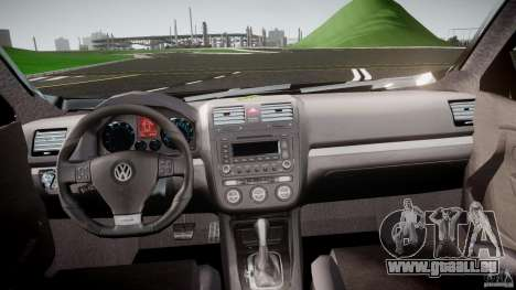 Volkswagen Jetta 2008 pour GTA 4 est un droit
