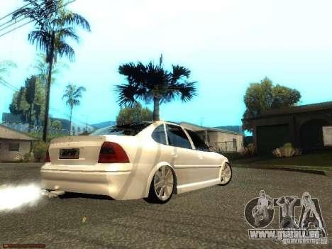 Chevrolet Vectra CD 2.2 16V 2003 pour GTA San Andreas sur la vue arrière gauche