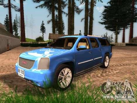 GMC Yukon Denali XL pour GTA San Andreas