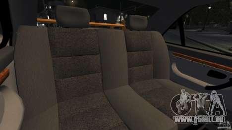 Peugeot 406 Taxi pour GTA 4 est un côté