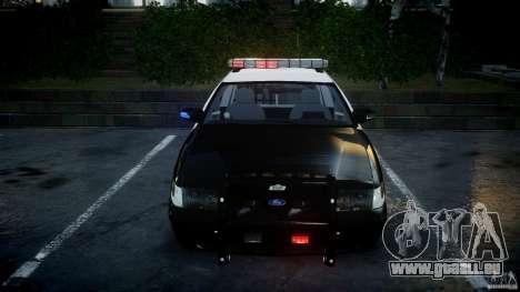 Ford Crown Victoria SFPD K9 Unit [ELS] pour GTA 4 vue de dessus