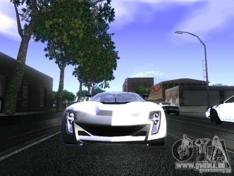 Bertone Mantide pour GTA San Andreas vue de droite