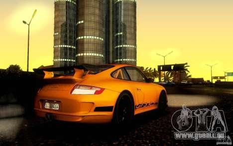 Porsche 911 GT3 RS pour GTA San Andreas sur la vue arrière gauche