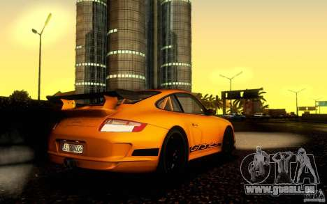 Porsche 911 GT3 RS für GTA San Andreas zurück linke Ansicht