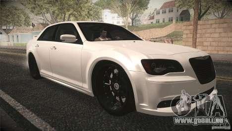 Chrysler 300 SRT8 2012 für GTA San Andreas Seitenansicht