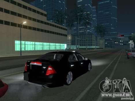 Ford Fusion pour GTA San Andreas vue de droite