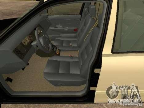 Ford Crown Victoria 2003 Police pour GTA San Andreas sur la vue arrière gauche