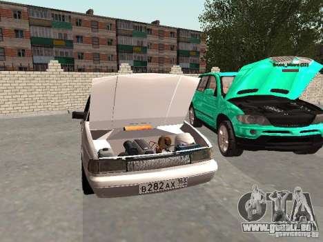 Moskvich 2141 für GTA San Andreas Innenansicht