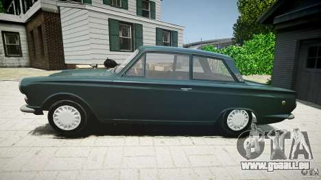Lotus Cortina S 1963 für GTA 4 linke Ansicht