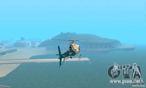 AS350 Ecureuil pour GTA San Andreas vue de droite