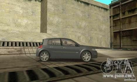 Renault Megane II 2005 pour GTA San Andreas vue de droite