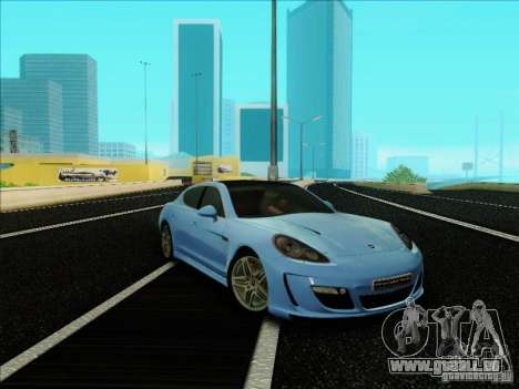 Gemballa Mistrale 2010 V1.0 für GTA San Andreas zurück linke Ansicht