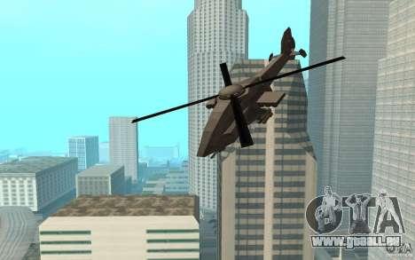 MQ Drone from BO2 pour GTA San Andreas sur la vue arrière gauche
