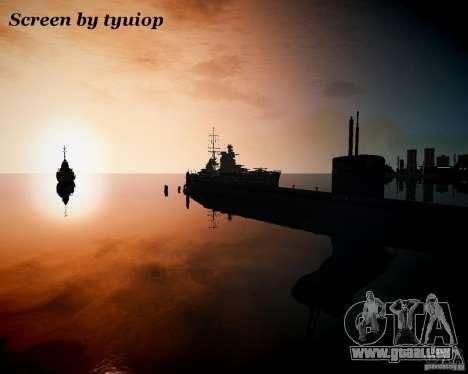 Marine pour GTA 4 quatrième écran