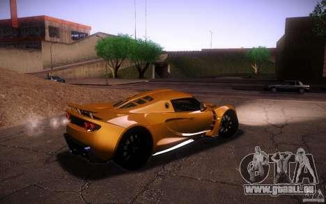 Hennessey Venom GT 2010 V1.0 pour GTA San Andreas vue intérieure