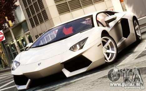 Lamborghini Aventador LP700-4 2012 pour GTA 4