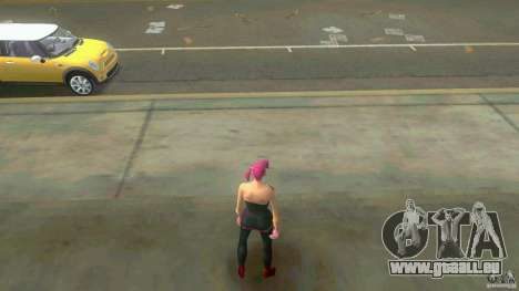 Girl Player mit 11skins für GTA Vice City achten Screenshot