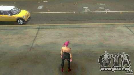 Girl Player mit 11skins für GTA Vice City achten Screenshot