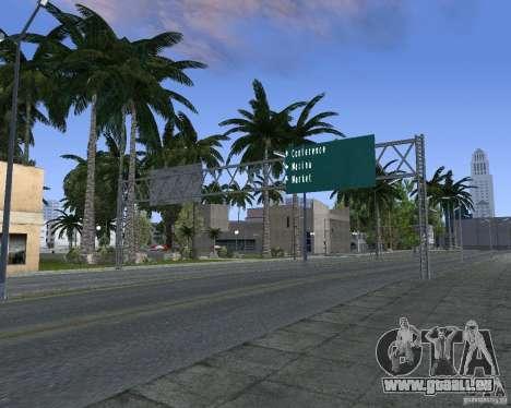 Route signes v1.1 pour GTA San Andreas sixième écran