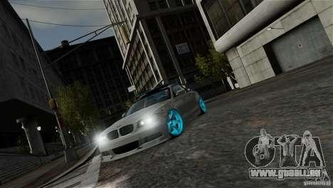 BMW 135i HellaFush für GTA 4 Innenansicht