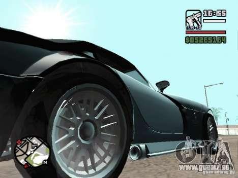 Banshee de GTA IV pour GTA San Andreas vue de droite