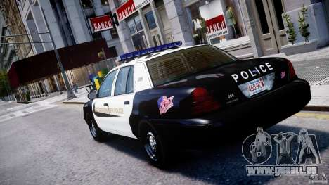 Ford Crown Victoria Massachusetts Police [ELS] für GTA 4 hinten links Ansicht