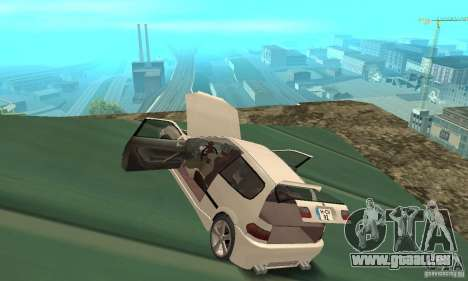 Honda Civic SiR II Tuning für GTA San Andreas Innenansicht