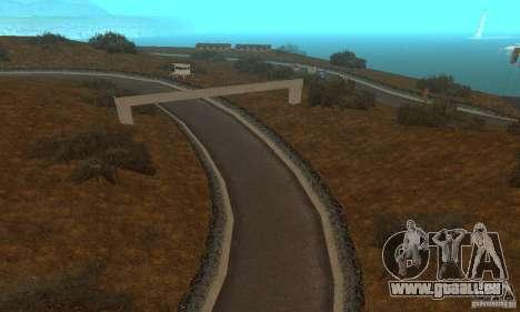 La route de NFS Prostreet pour GTA San Andreas sixième écran