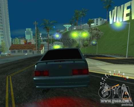 VAZ 2113 Ferarri pour GTA San Andreas vue intérieure