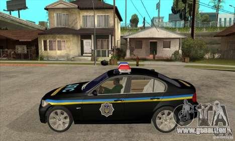 BMW 3 Serie DPS für GTA San Andreas linke Ansicht