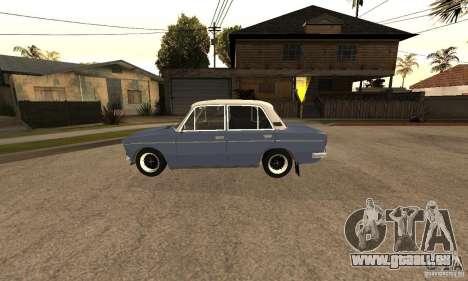 VAZ 2106 alten v2. 0 für GTA San Andreas Seitenansicht