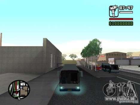 DAF pour GTA San Andreas laissé vue