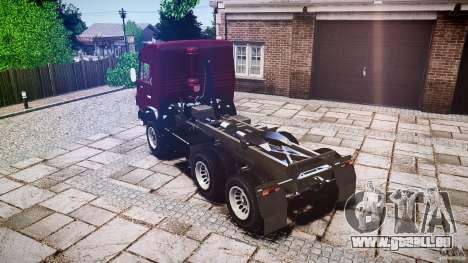 KAMAZ 5410 für GTA 4 Innenansicht