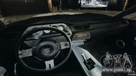 Dodge Challenger Concept 2006 für GTA 4 Rückansicht