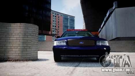 Ford Crown Victoria New York State Patrol [ELS] pour le moteur de GTA 4