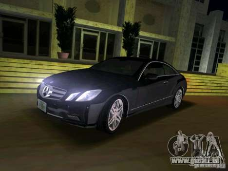 Mercedes-Benz E Class Coupe C207 für GTA Vice City rechten Ansicht