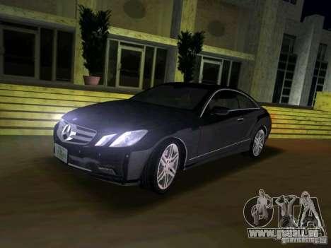 Mercedes-Benz E Class Coupe C207 für GTA Vice City rechten Ansicht