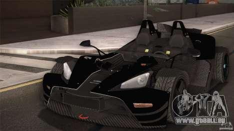 KTM-X-Bow für GTA San Andreas Innen