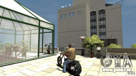 The Lost and Damned Bikes Diabolus für GTA 4 hinten links Ansicht