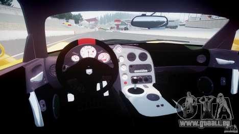 Dodge Viper SRT-10 ACR 2009 v2.0 [EPM] pour GTA 4 est un droit