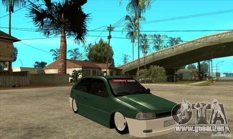 Volkswagen Gol v1 pour GTA San Andreas vue arrière