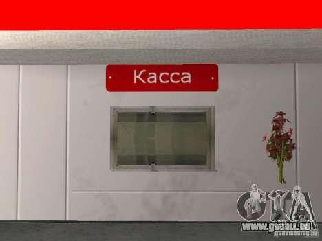 Der Lukoil Tankstelle für GTA San Andreas fünften Screenshot