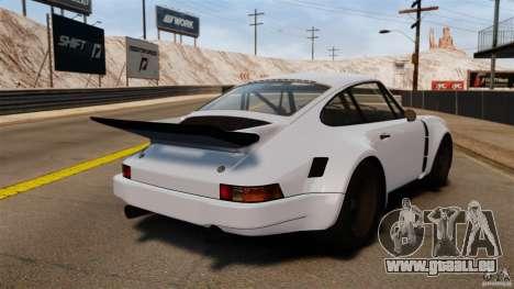 Porsche 911 Carrera RSR 3.0 Coupe 1974 pour GTA 4 Vue arrière de la gauche