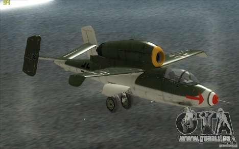 Henkel 162A Salamander pour GTA San Andreas laissé vue