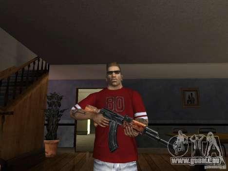 AK HD pour GTA San Andreas troisième écran