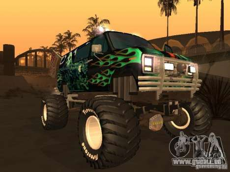 Ford Grave Digger für GTA San Andreas