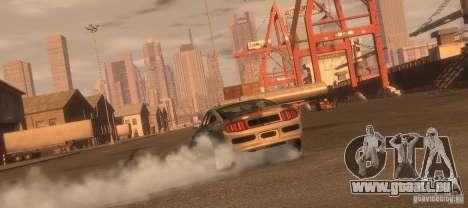 Ford Mustang Monster Energy 2012 pour GTA 4 est un droit